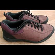 Easy Spirit E360 Burgundy Black Essolano Sneakers Size 10 Wide  - €26,86 EUR