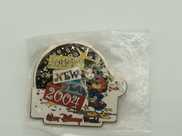 WDW Happy New Year 2004 Cast Exclusive Disney Pin  Goofy Mickey Donald - $24.99