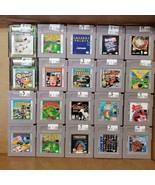 Nintendo Gameboy + GB Color + Advance Cartridges >>YOUR CHOICE<< Dropdow... - $4.49+