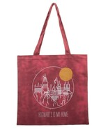 Harry Potter Hogwarts is my Home Canvas Tote Book Bag Reusable Grocery Bag - $284,64 MXN
