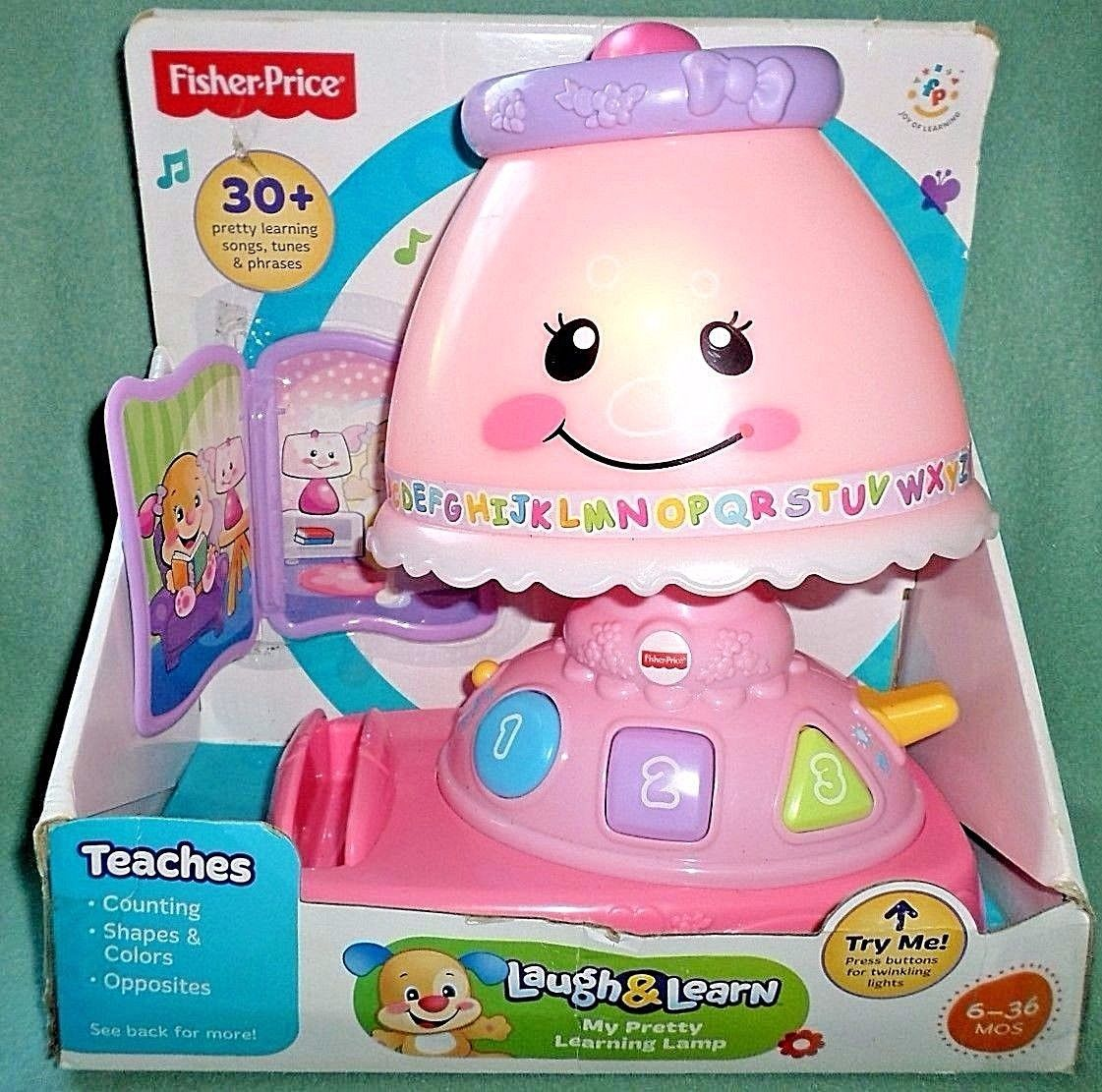 Amazing Fisher Price My Pretty Laugh U0026 Learn Lamp And 47 Similar Items