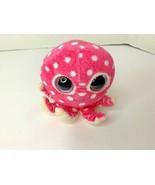 Ty Beanie Boos Ollie The Octopus Pink Polka Dot Plush Stuffed Animal Toy - $10.39