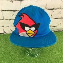 Angry Birds Space Youth One Sz Hat Blue Flatbill Snapback Baseball Cap - $14.84