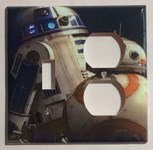 Star Wars BB8 BB-8 R2D2 Robot Light Switch Power Outlet wall Plate Cover decor image 7
