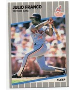 1989 Fleer Cleveland Indians Team Set - $0.94