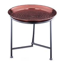 Old Dutch International Copper Hammered Tray wi... - $45.99