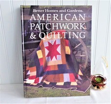 Book American Patchwork Quilting Guide Hardback 1985 Quilting Guide Patterns - $20.00