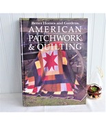 Book American Patchwork Quilting Guide Hardback 1985 Quilting Guide Patt... - $20.00