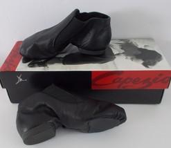 Capezio Kids Jazz Split Sole Black Leather Gore Boot CG05C Young Child 1... - $19.76
