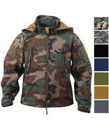 Tactical Soft Shell Waterproof Jacket Fleece Lined Military Army Hooded ... - $97.99+
