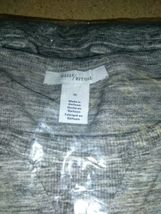 Daily Ritual Women's  Crewneck Pullover Sweater, GREY (Med) NEW W TAGS image 5