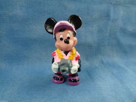 "Disney Applause Tourist Minnie Mouse w/ Camera PVC Figure or Cake Topper 2 1/4"" - $2.48"