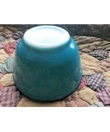 Vtg Pyrex Primary Blue Mixing Bowl 1.5 Pint 401 Nesting Oven Ware Old Ma... - $22.76