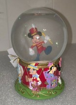 """Disney Mickey Mouse Marching Band  Snow Globe 75th Anniversary 5"""" Tall - $18.90"""