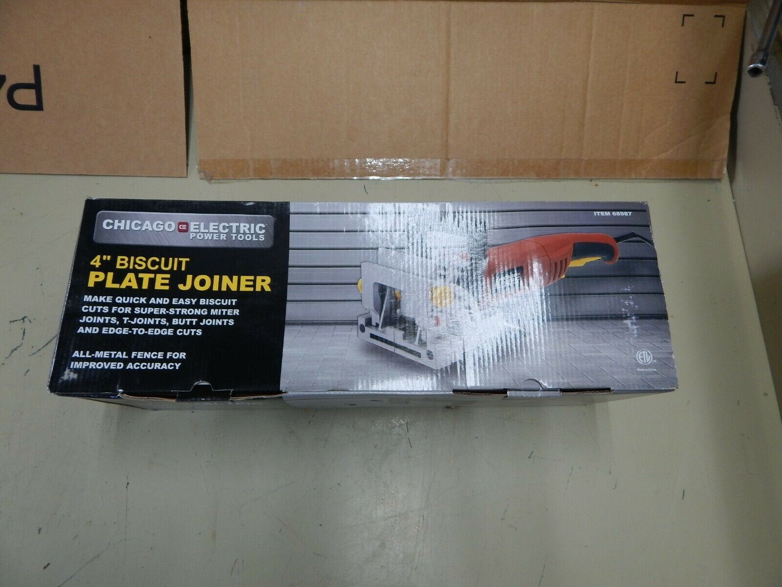 4in. Biscuit Plate Joiner Make quick and easy biscuit cuts powerful plate joiner - $84.14