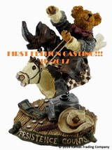 "Boyds Bears (FIRST EDITION) #228351 ""Bronson Steadfast..Hangin' Tough"" (... - $19.34"