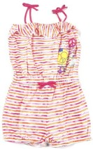 Girl's 4-6 Romper XOXO Striped with Peace Signs and Hearts CUTE! - $14.89