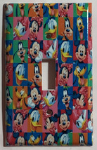 Mickey Mouse friends characters Light Switch Outlet wall Cover Plate Home decor