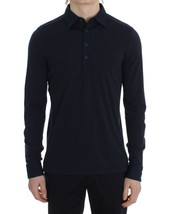 TOMMY HILFIGER Blue Button Polo Sweater - $84.60+