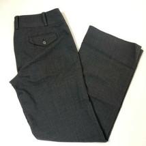 Ann Taylor Lindsay Women's Mid Rise Dark Gray Dress Pants Womens Size 4 - $14.84
