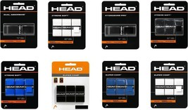 Head Badminton Racket OverGrips pack of 1 / 3 Choose From 8 - $27.00+