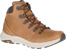 Merrell Ontario Mid Hiker Boot (Men's) in Brown Sugar Full Grain Leather... - $170.05