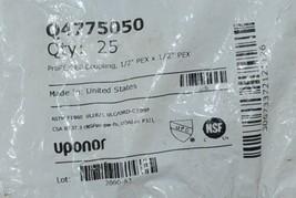 Uponor ProPex EP Coupling 1/2 Inch Bag of Twenty Five Q4775050 image 2
