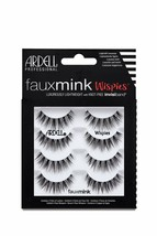 Ardell False Lashes Faux Mink Wispies Multipack 1 pk x 4 pairs 4 Count - $10.87