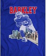 GIANTS SAQUON BARKLEY N.Y. CITY ART OLDSKOOL T-Shirt *MANY COLORS & SIZES  - $14.84+