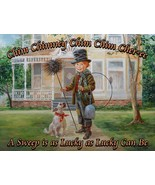Chimney Sweep A Sweep is Lucky Little Children Peddlers by Lee Dubin Met... - $30.00