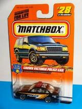 1998 Matchbox Premiere Police Collection Wyoming ND Missouri RI Nebraska Cars