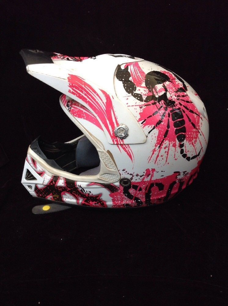 SCORPION 09-032-03-03 VX-9 ROCKER YOUTH MOTOCROSS HELMET SMALL