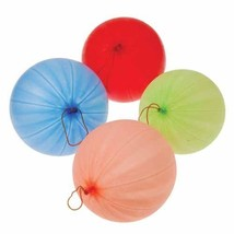 US Toy Rubber Punch Balls with Rubber Band Handles Toy (1 Dozen) Assorte... - $12.70