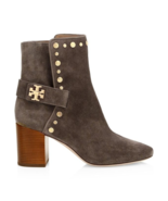 Tory Burch Kira Studded Suede Ankle Boots Size 9.5 MSR: $474.00 - £338.69 GBP