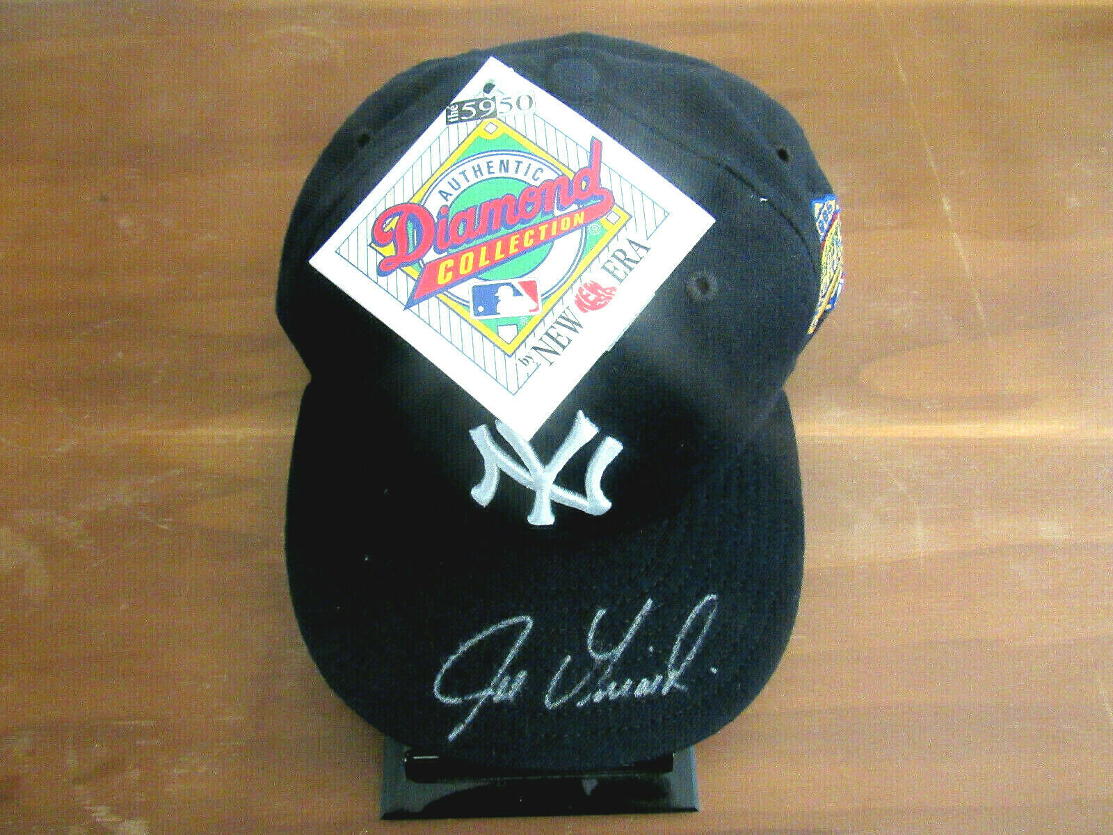 Primary image for JOE GIRARDI 1996 WSC NEW YORK YANKEES CATCHER SIGNED AUTO 1996 WS CAP HAT JSA