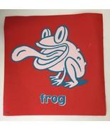 Cranium Hullabaloo Childrens Game Red Frog Toad Square Foot Mat Floor Pa... - $5.34