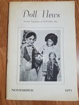 Doll News UFDC Magazine - November 1971 - $7.83