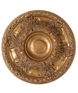 "Classic Round Ceiling  Acanthus Gold Art Medallion 23""D - $98.01"