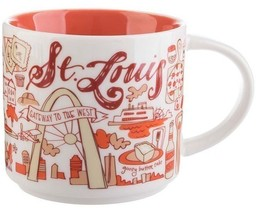 Starbucks 2018 St Louis, Missouri Been There Collection Coffee Mug NEW I... - $32.95
