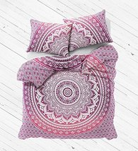 Twin Hippie Mandala Bed Cover Throw Bohemian Decor Bedspread Indian Cove... - $26.24