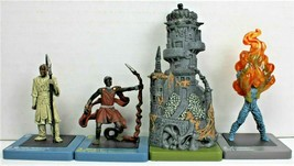 Dreamblade Miniature Lot of 4 Uncommons Wizards of the Coast 2006 - 2007... - $14.99