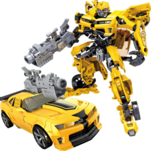 TRANSFORMERS 5 The Last Knight Movie OPTIMUS PRIME Bumblebee ACTION FIGU... - $24.98