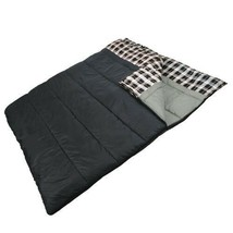 """Double 2 Person Giant Sleeping Bag 80""""x66"""" Warm Weather +32F/above or Us... - £71.18 GBP"""