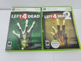 Left 4 Dead 1 and Left 4 Dead 2 (Xbox 360, 2009) - Tested, Complete with... - $25.00