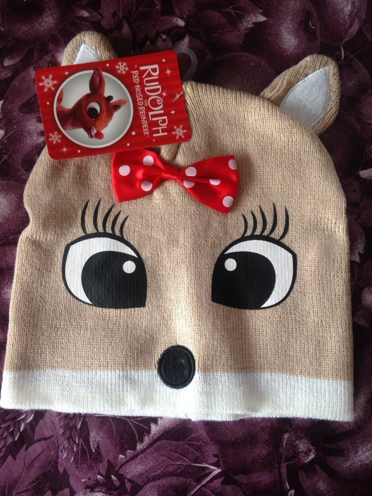 Rudolph The Red Nosed Reindeer Clarice Hat Rare Brand New w Tags