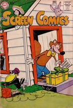 REAL SCREEN COMICS #126 FOX AND CROW EXPLOSION CVR DC G - $25.22
