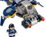 Lego Marvel Super Heroes SHIELD Sky Attack Jet Ship & Pilot Agent ONLY 76036