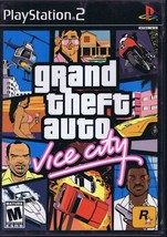 Grand Theft Auto Vice City VINTAGE PS2 Playstation 2 Game   - $19.79