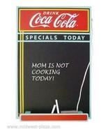 Coca-Cola Wood Chalkboard - $20.53