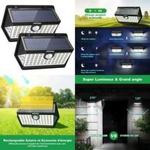 Mpow 2 Pack 63 LED Spot Solaire Extérieur, Lampe Etanche IP65 Détecteur ... - $57.92